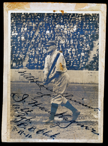 Honus Wagner Signed Original Photograph