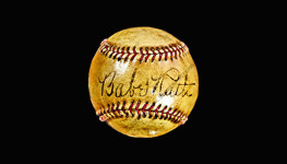 Babe Ruth single signed baseball (JSA LOA)