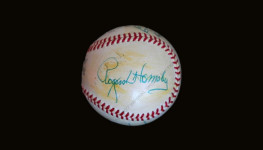 Rogers Hornsby signed St. Louis Cardinals Baseball (JSA LOA)